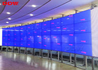 55 inch LED curved videowall Samsung lcd display wall 3.5mm super narrow bezel 1080p resolution