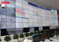 "Curved video wall 46"" 1.7mm seamless 500nits high brightness lcd video wall panels Samsung"