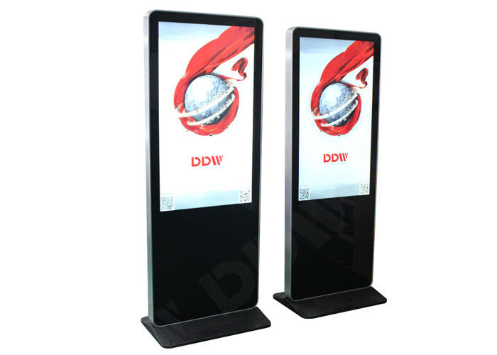 DDW-AD8601SNT Floor Standing Digital Signage 86'' H178º/ V178º Viewing Angle Durable