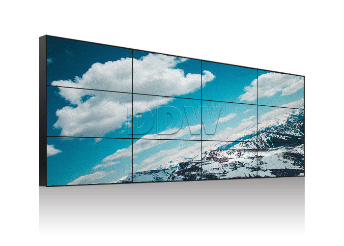 Ultra narrow bezel screen LG video wall 55inch 3.5mm 700nits brightness video wall display monitors