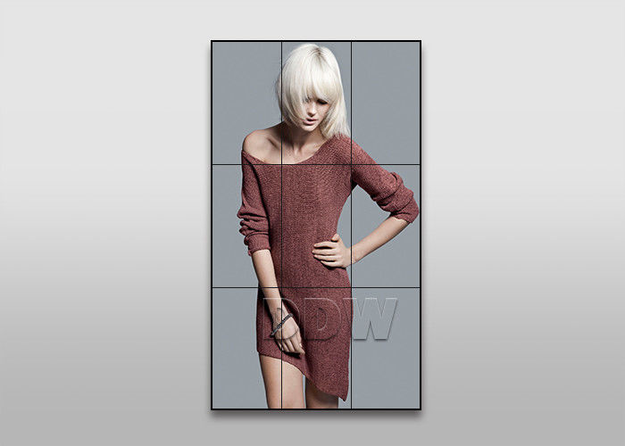55 inch 3.5 mm 700nits ultra narrow bezel LCD video wall for fashion store advertising DDW-LW550HN12