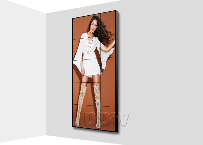 3.5 mm 500nits super narrow bezel monitor LCD video wall 55 inch for fashion store advertising DDW-LW550HN11