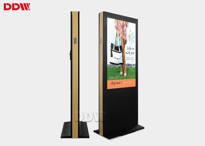 65 Inch Large Screen LCD Digital Signage Totem , Electronic Signage Display