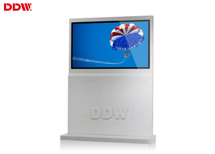 55 Inch open sourceFree Standing Kiosk advertising for hotels free software DDW-AD5501SN