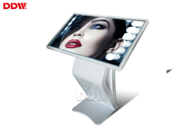 Floor Stand Lcd Digital Signage Touch Screen Kiosk Advertising Player 1920x1080