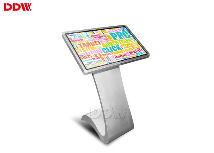 Indoor Application 10dots capacitive Touch Screen Kiosk Digital Signage Advertising Display 16:9 Fhd DDW-AD4201TK