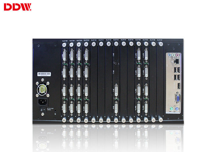 HDMI Video Wall Controller 4x4 Power - saving design Support scenes cycle broadcast DDW-VPH0304