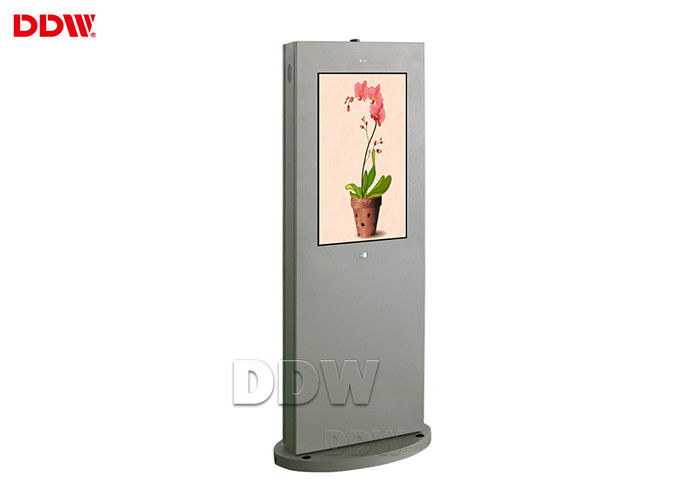 Resolution 1920x1080 Outdoor Digital Display Signs 55'' Floor Standing Outdoor Totem
