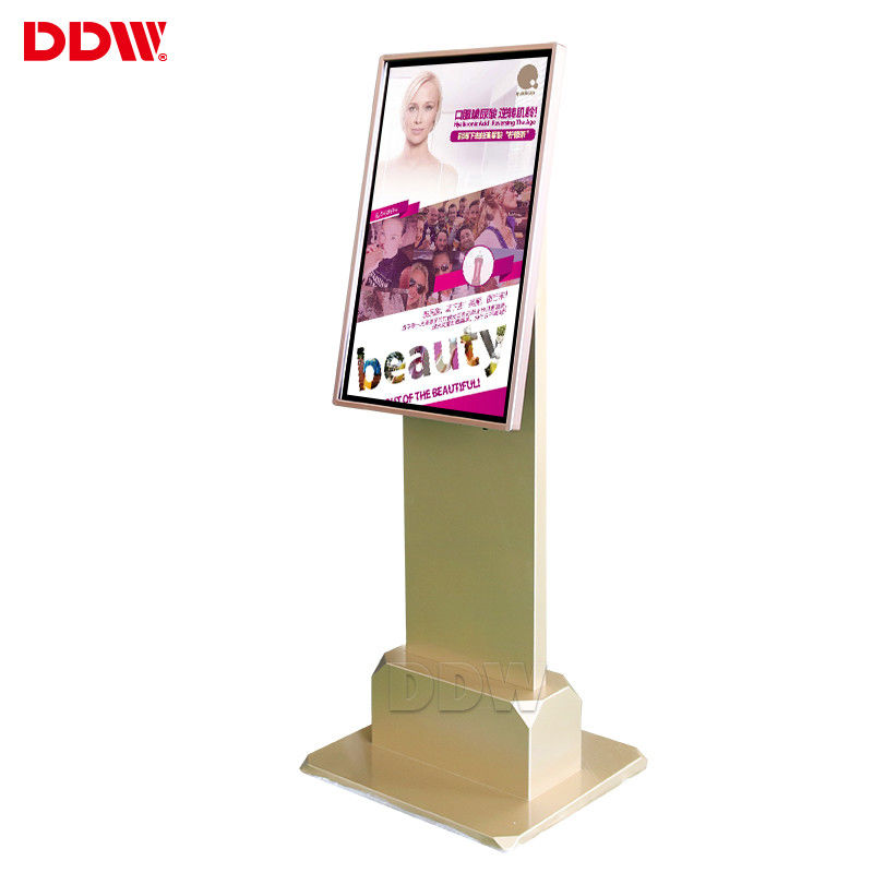 Supermarket Interactive Information Kiosk , 21.5'' Free Standing Digital Display DDW-AD2105TK