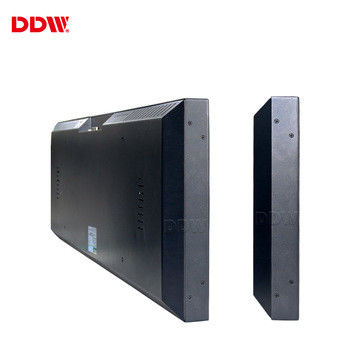 Wall Mounted Stretched Bar Lcd Monitor , Ultra Wide Lcd Display For Shelf Edge