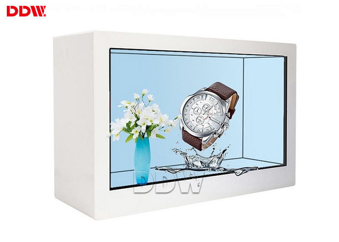 700 Nits Brightness Transparent LCD Display 27 Inch 16.7M With CE RoHS CCC Approval